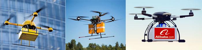 DHL, Alibaba ve Finlandiya Posta Servisi'nin insansız hava aracı ile kargo taşıma denemeleri