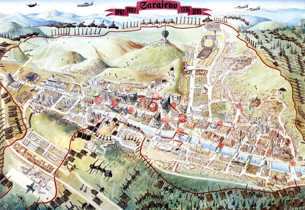 Saraybosna Kuşatması'nda Bosnalılar nasıl hayatta kaldı?